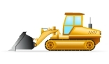 Construction Vehicle Vector Animation Collection