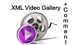 XML VIDEO GALLERY WITH COMMENTS