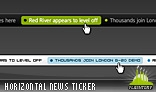 Horizontal News Ticker 01