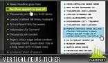 Vertical News Ticker 01