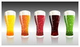 5 Beer Glasses Animation