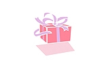 Animated gift button