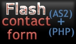 Flash Contact Form (PHP+AS2)
