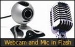 Webcam and Mic in Flash