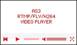 AS3 FLV/RTMP/H.264/PHP video player with Javascript API