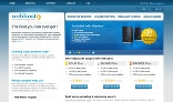 Professional & Clean Web-Hosting Site Design (3 PSD pages)
