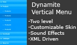 Dynamite Vertical Menu