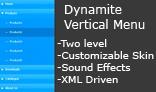 Dynamite Vertical Menu
