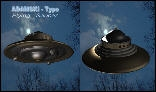 Adamski type Flying Saucer