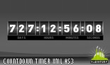 Analogue Countdown Timer 01 AS3