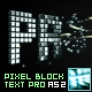 Pixel Block Text PRO AS2