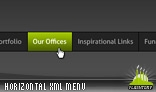 Horizontal Scrolling Menu XML AS3