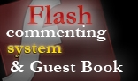 Commenting system for flash sites & Guest Book V 1.0 AS2