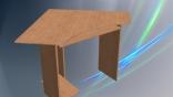Computer desk model