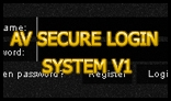 AV Secure Login System - V1