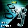 PJ DNA - text effect
