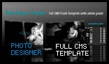 Photo Designer Full CMS Template