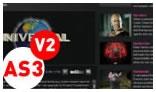 HTML XML Video List AS3 - V2 FLV Player