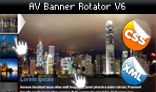 AV Banner Rotator V6 with XML & CSS