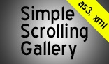 Customizable Scrolling Gallery