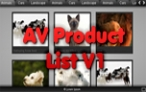 AV Product List V1