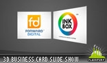 3D Business Card Slide Show AS3