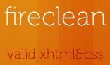 FireClean - XHTML & CSS