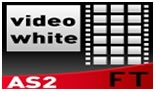 Advanced Video Gallery White AS2