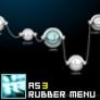 Rubber Menu AS3