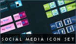 Social media minimal icon