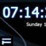 Digital Blue Clock AS2