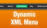 XML Dynamic Horizontal Menu