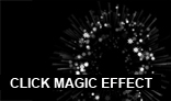 Magic click effect