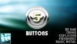 5 buttons - 3Dbar Explosions Fireworks Metal Smoke