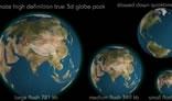 True 3d Globe