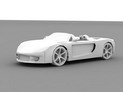 Porsche Carrera GT no textures