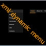 Dynamic xml menu