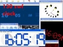 130 flash (swf) clock pack