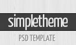 Simpletheme - Premium PSD Template