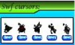 Insects static cursors
