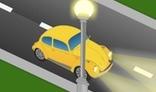 Road car animation