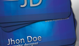Blueray Business Card