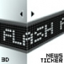 3D News Ticker