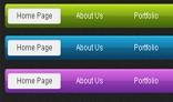3 Clean Web Menus