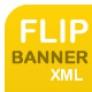 AS3 XML Flip Banner Rotater