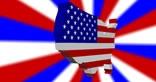USA America 3D Animated Model