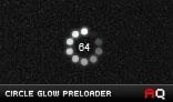 Circle Glow Preloader AS3.0