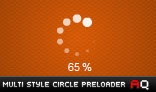 Multi-Style Circle Preloader AS2.0