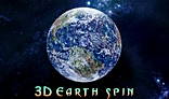 3D Earth Spin