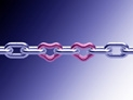 Hearts in Chains with variations and transparent PNG